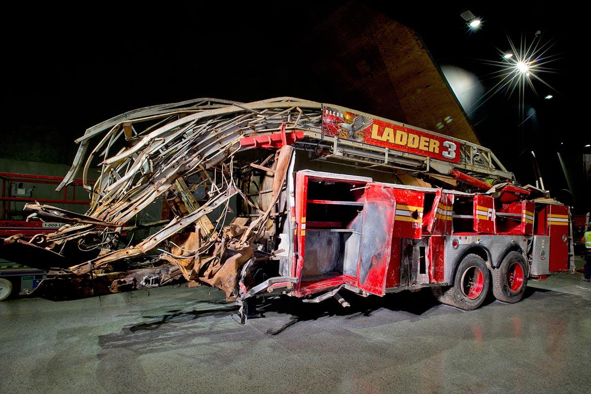 Brandbil 9/11 Memorial Museum (Foto: Jin Lee)