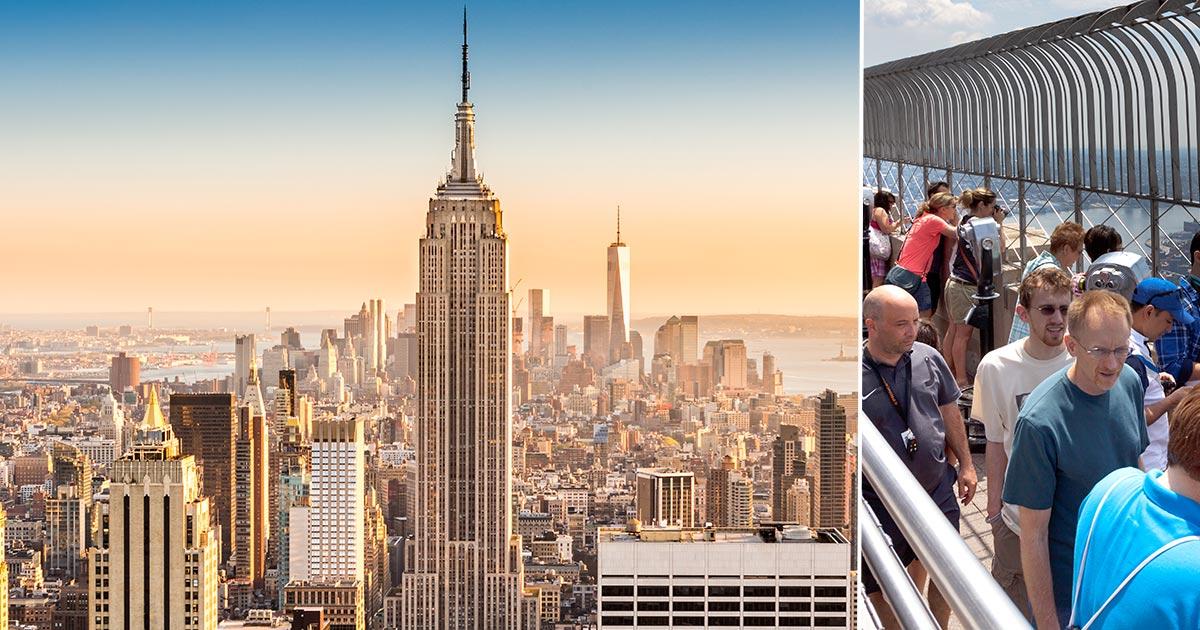 Empire State Building - boka biljett till observationsdäck