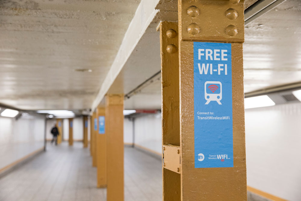 Gratis wifi i New York (Foto: Flickr/mtaphotos)