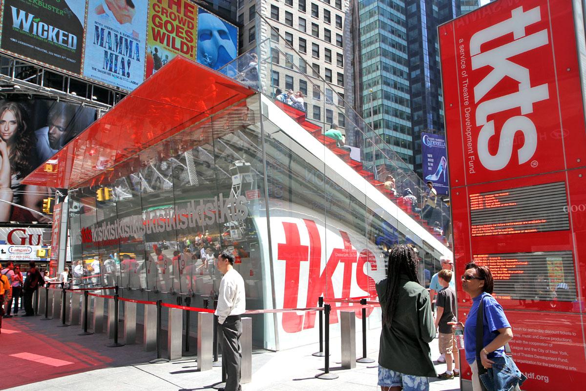 TKTS Broadway billiga biljetter (Foto: Allt om New York)