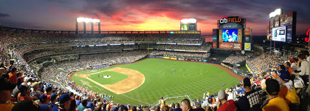 Baseboll New York Mets Citifield (Flickr/gargudojr)