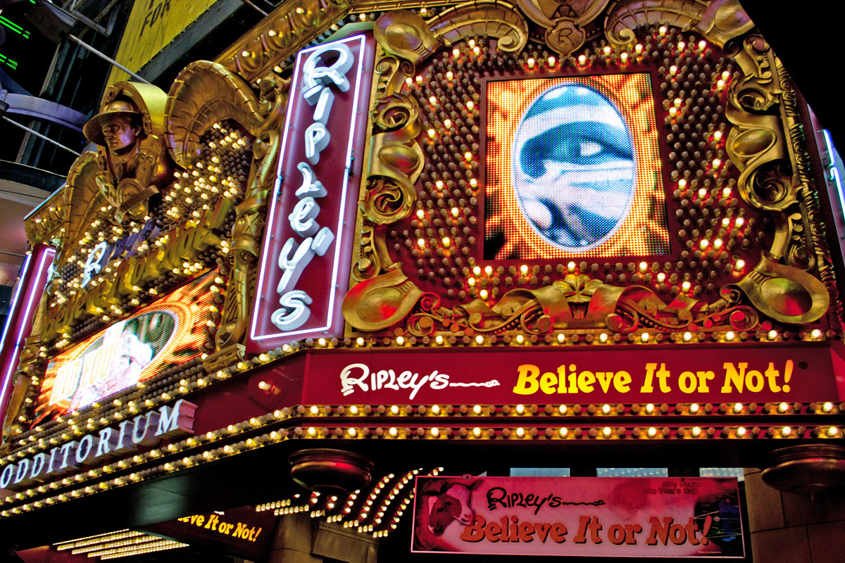 Ripley's Believe it or not New York (Foto: Flickr/pulkitsinha)