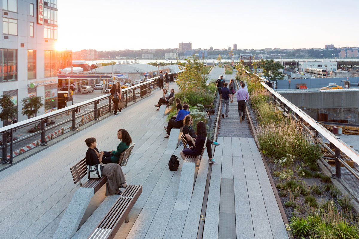High line park i new york tips fakta allt om new york for Dining near at t park