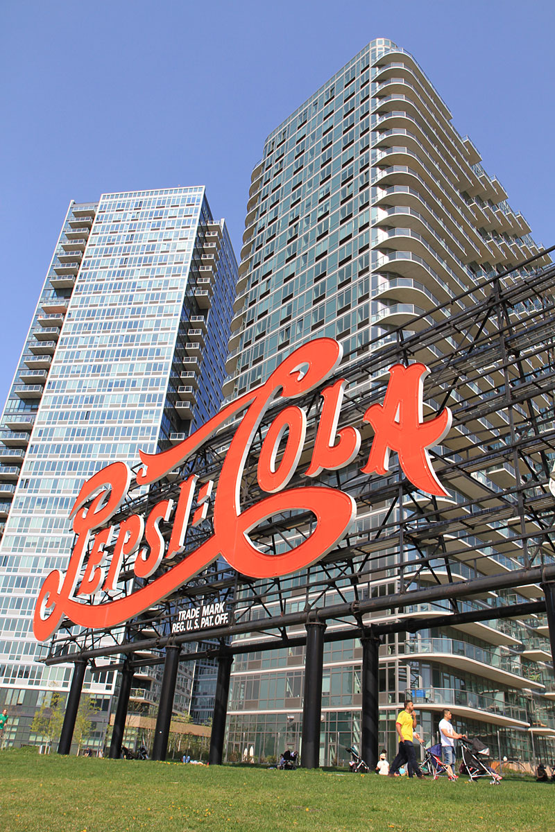 Gantry Plaza Pepsi Sign (Foto: Göran Ingman/Allt om New York)