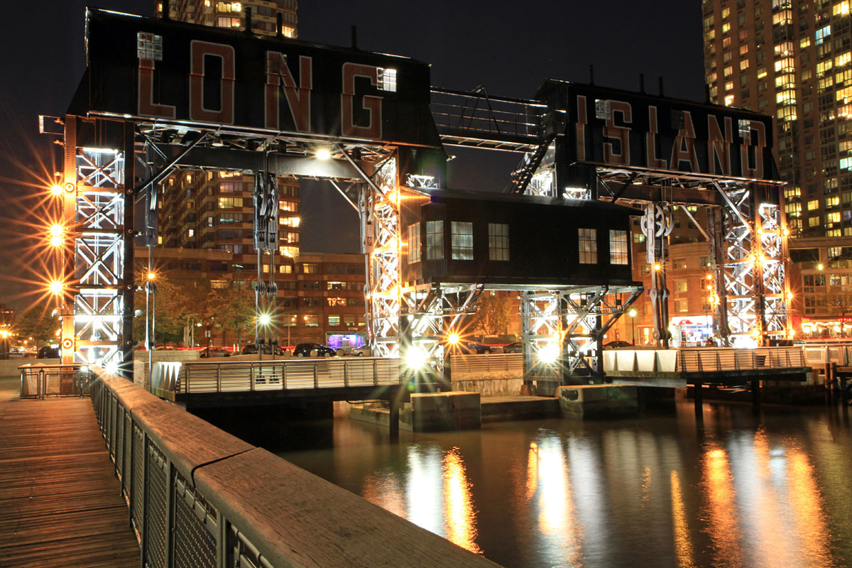 Gantry Plaza Long Island City (Foto: Göran Ingman/Allt om New York)