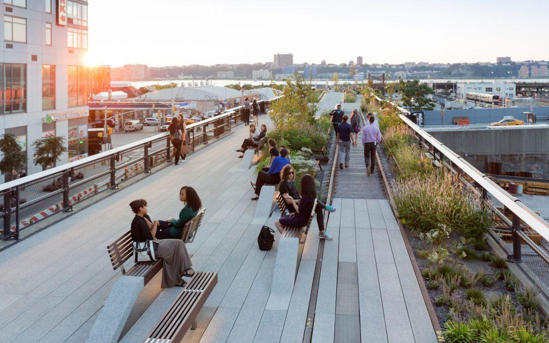 High Line Parks sista etapp