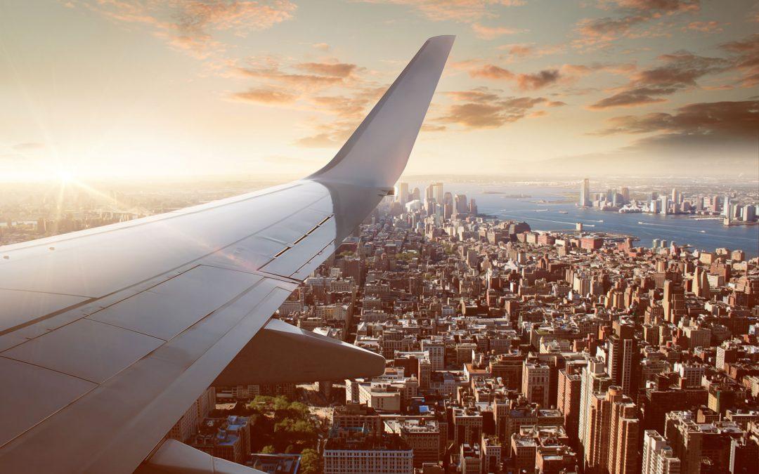 Att gå in för landning i New York