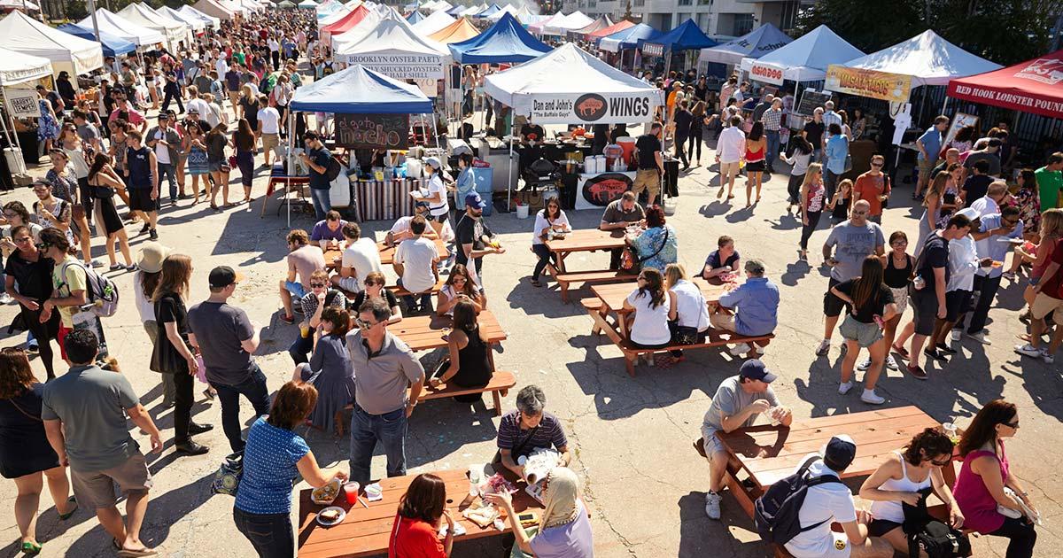 Smorgasburg – matmarknad i Brooklyn