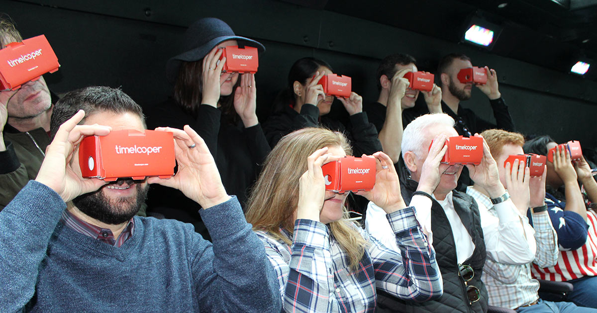 The Downtown Experience - buss med virtual reality