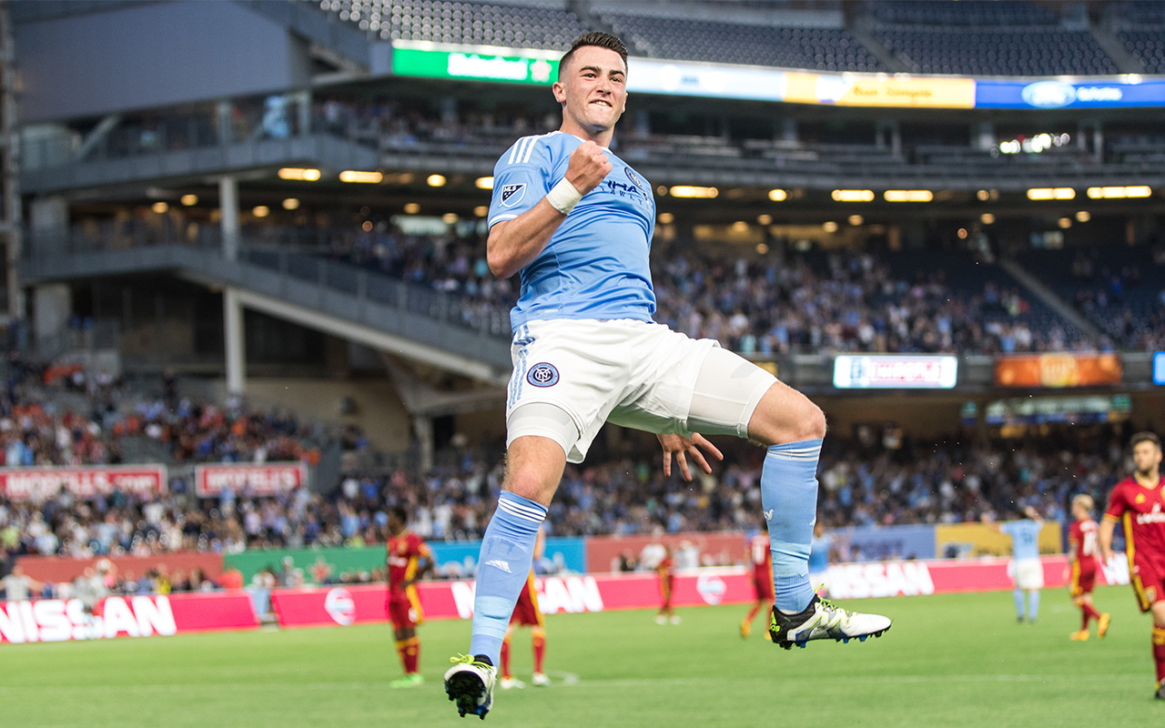 Fotboll New York NYC FC Jack Harrison