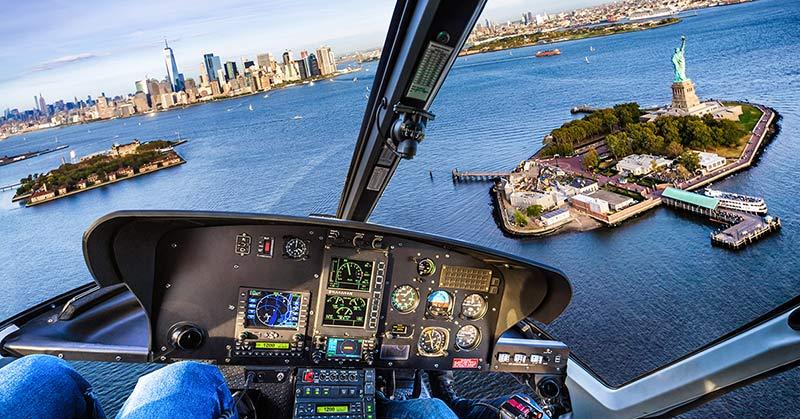 Reseguide New York - topptipset är helikopterflygning