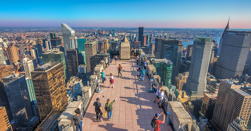 Top of the Rock New York - biljetter och tips